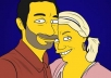 make your photo into a the simpsons inspired cartoon