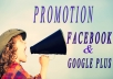 blast anything to 15millon facebook &google plus members