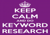 keyword Research To Give You Low Competion Niches