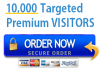 send 10,000 visitors to your Website/blog