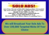 blast Your Solo Ads To Over 199,000 Targeted Niche Of Your Choice