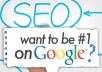 full Onpage SEO analyze improve site Ranking and fix all