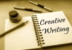 write you a perfect creative article of 300-400 words
