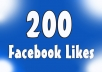 Gives you 200+Instantly started Active Facebook Fan Page likes