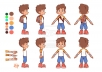 make sprite sheet and 2d characters for your 2D game