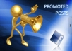 promote your link with message to 40 Million Facebook people