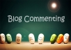 write 20 qualityfull COMMENTS on your google plus post or blog