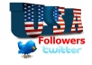 give real 500 USA twitter followers