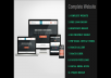 design complete Responsive Website with Contact Form & Logo