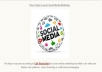 do social media marketing campaign within my 9M Facebook and Twitter fans