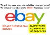 drive 20,000 VIEWS To Your eBay Profile