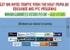 send unlimited traffic from most popular revshare and ptc sites