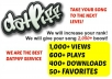 give Datpiff 1000 Views, 600 Plays, 400 Downloads, 50 Favorites