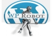 install wprobot4 autoblog software on wordpress