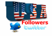 give You 3,000USA+Fast and SAFE Twitter Followers.