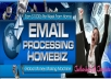 show you how to make $500 per email processing daily