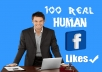 Provide 200 Real & Active Facebook Likes