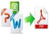convert your documents to PDF