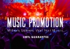 promote Music on 60,000,000 members