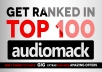get Your AudioMack Song to TOP 100