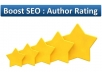 add system of WordPress post rating by author to boost SEO
