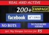 Add 200 Likes to Your FANPAGE