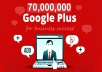 do 70000000 members Google promotion