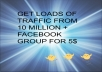 promote Your Link to 10 Milllion Facebook Groups