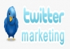 tweet any Your website or message to Real 500000 twitter followers and boost 500 HQ retweets