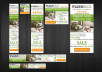design 5 great look Web BANNER Ads
