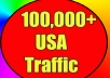 give 100,000 Real Human (USA) Visitors to your site From social networks