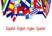 Translate any form of text in Spanish to English