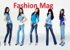 advertise for you on my Fashion Mag