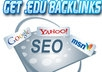 create 10 profile backlinks from .edu/.gov domain manually