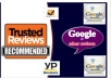 I am professional review poster ...I will post google reviews on your business or Trustpilot, Yellow pages, goodreads, sitejabber, Yahoo local reviews.  I will  provide you the following services  100% Safe and stable review. 100% Satisfaction Guaranteed. Quick Responsiveness. Custom Support 24/7.