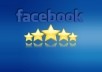 add 50 Real Facebook 5 star Reviews In 5 Hours