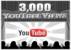 GIVE 3000 REAL YOUTUBE VIEWS TO UNLIMITED VIDEOS