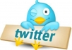 Give you 25000+ real and active twitter followers in less than 10hours