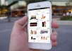 make an app for android and IOS for your physical shop