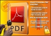 unlock and edit secured PDF for you