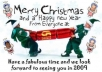 design fun and creative CHRISTMAS cards from your photos in Greeting Cards 3 Days On Average