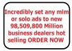 incredibly set any mlm or solo ads to new 98,509,800 Million business dealers