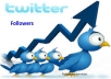 PROVIDE 5000 HIGH QUALITY PERMANENT TWITTER FOLLOWERS
