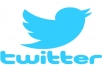 follow you on Twitter and retweet your post