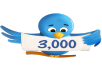 get you 3000+ twitter followers