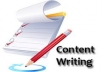write unique content or article for your website
