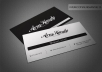 Create a professional bussiness card