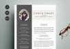 design a professional resume for you.