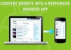 convert your website/blog/youtube channel into Android app & Publish it