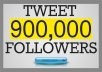 tweet your website to 900,000 active twitter folllowers